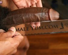 8 Inch Black Shemale Cock
