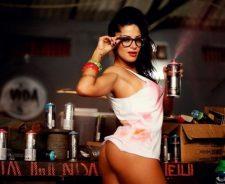 Aline Riscado Razilian Girl Hot Ass No Panties