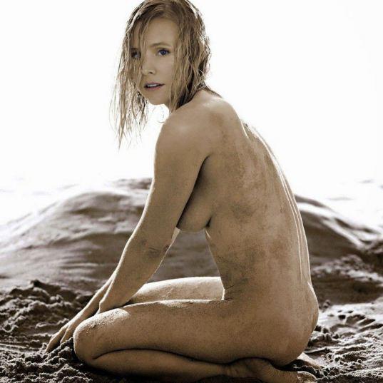 Allure Magazine Kristen Bell Nude
