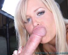 Amateur Allure Blonde Blue Eyes