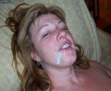 Amateur Messy Facials