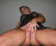 Amateur Milf Oiled And Wet