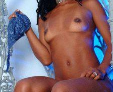 Amateur black girl solo porn