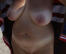 Amateur wife big saggy tits