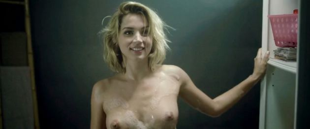 Ana De Harmas Topless Hot And Naked Just Out Of The Shower