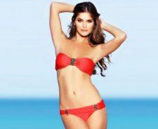 Anahi Gonzales Smiling Cute In Bikini