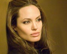 Angelina Jolie Closeup View