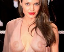 Angelina Jolie See Through Tits