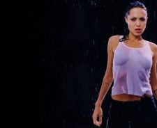 Angelina Jolie Wet Shirt