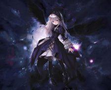 Anime Dark Angel Girl