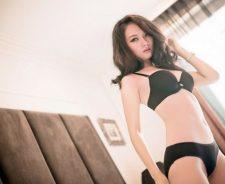 Asian Girl Body Underwear Model