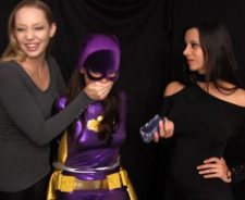 Batgirl Cali Logan Superheroine In Peril