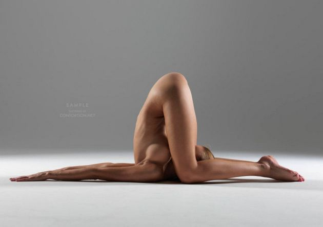 Beautiful Nude Yoga