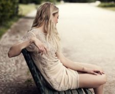 Bech Blonde Model Girl Pose