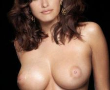 Big tit penelope cruz fakes