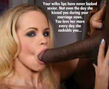 Black Cuckold Blowjob Caption