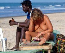 Black Women Sex On Beach