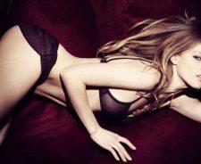 Blonde Underwear Sexy Girl