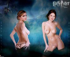 Bonnie Wright Emma Watson Harry Potter Porn