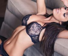 Bra Tits Tummy Sofa Sexy Girl Pose Model Lingerie