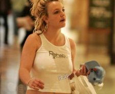 Britney Spears Celebrity Oops