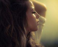 Brunette Hair Face Arm Beauty