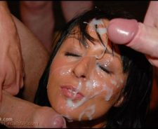 Bukkake Cum Bath Facial