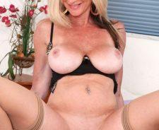 Busty mature blonde porn stars