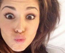 Cheryl Cole Selfie