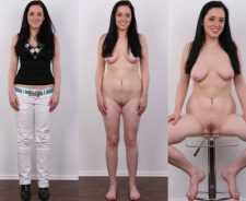 Clothed And Naked Comparison