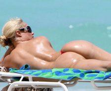 Coco Austin Thong Bikini