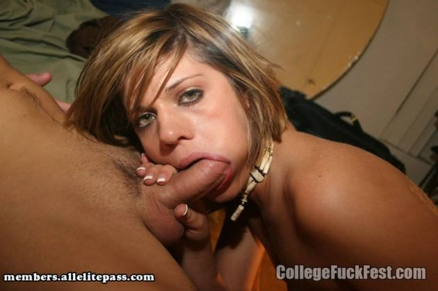 College boy and girl having sex