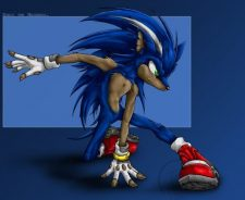 Cool Sonic The Hedgehog