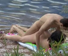 Couples Having Sex On Public Beach