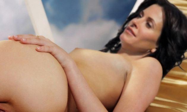 Courteney Cox Naked Ass