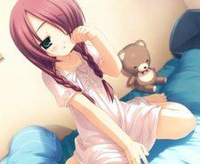 Cute Anime Girl Sleepy