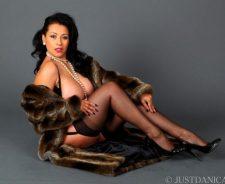 Danica Collins Fur Coat