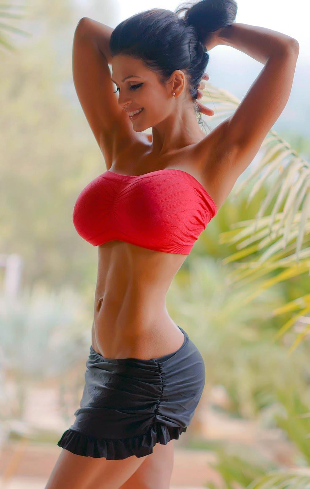 Denise Milani busty