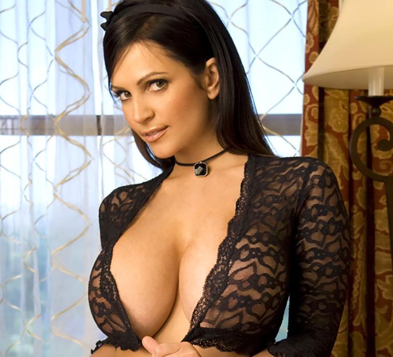 Denise Milani huge boobs