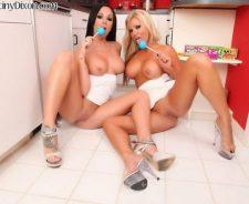 Destiny Dixon And Angie Savage