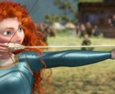 Disney Brave Merida Shooting