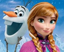 Disney Frozen Anna And Olaf