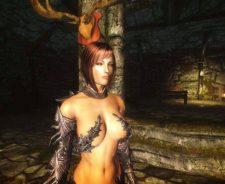 Elder Scrolls Skyrim Nude
