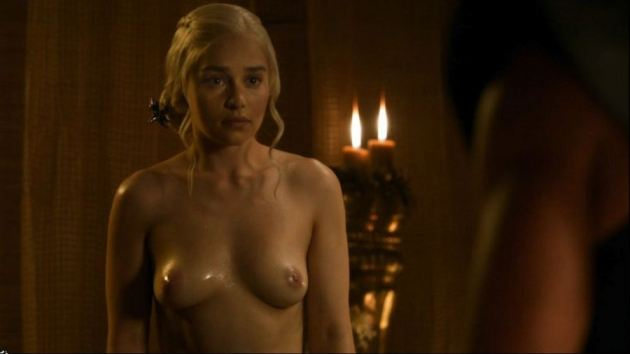 Emilia Clarke Nude Tits Sex Game Of Thrones