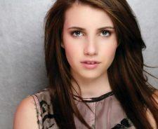 Emma Roberts Brown Hair