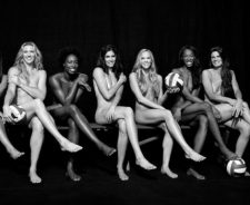 Espn Body Issue Volleyball Team