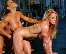 Female Bodybuilder Muscle Girl
