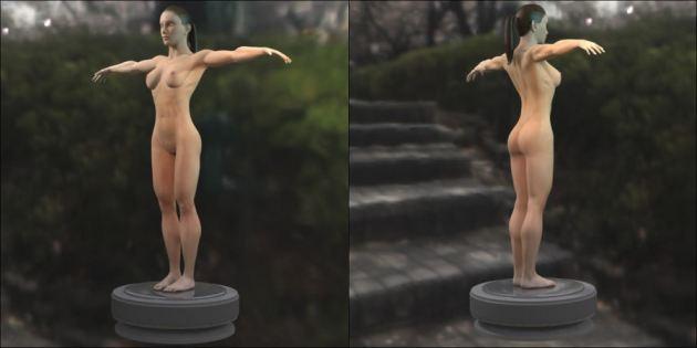 Female Nude Warrior Women Wallpaper