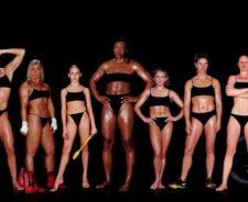 Female Olympic Athlete Bodies