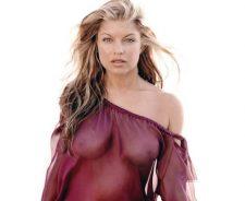 Fergie Ferguson Topless